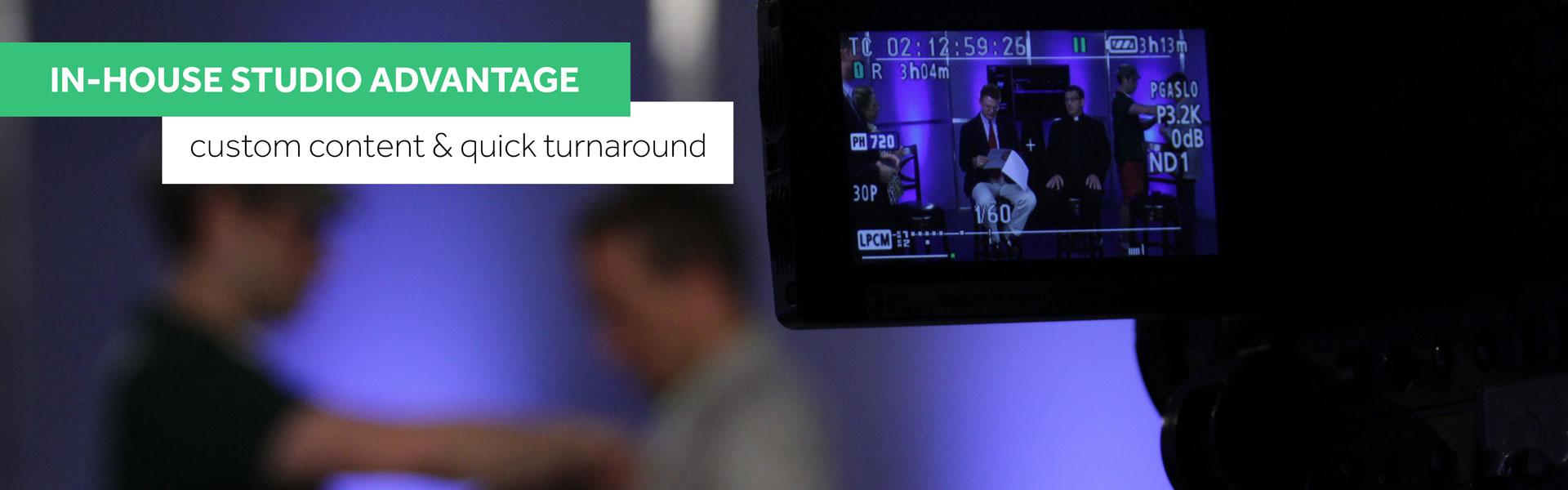 In-House Atlanta Georgia Video Production Studio Advantage with Custom Content and Quick Turnaround
