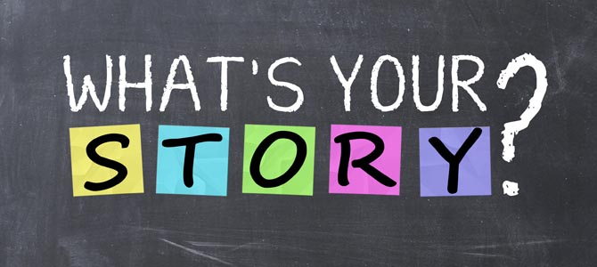 Image result for what's your story images
